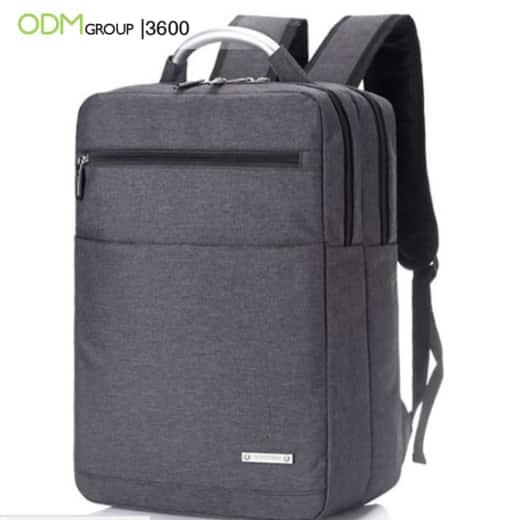 custom branded backpack