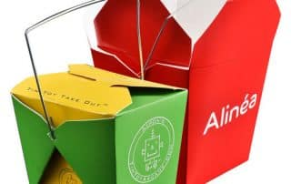 takeout food packaging