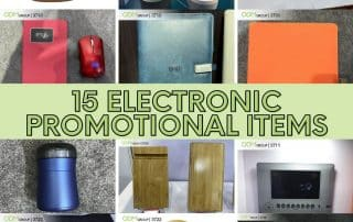 Electronic Promotional Items