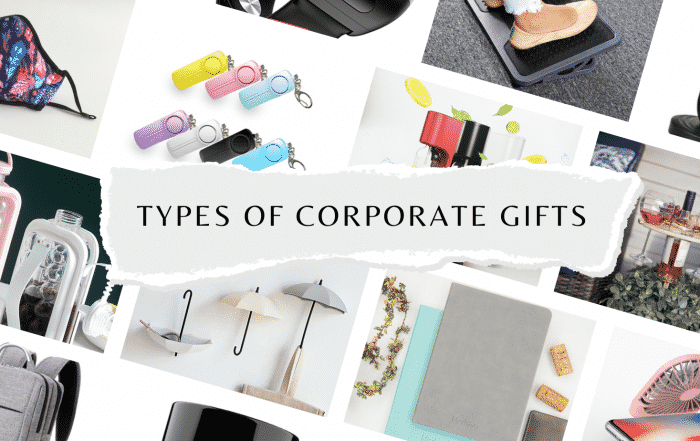 Types of Corporate Gifts