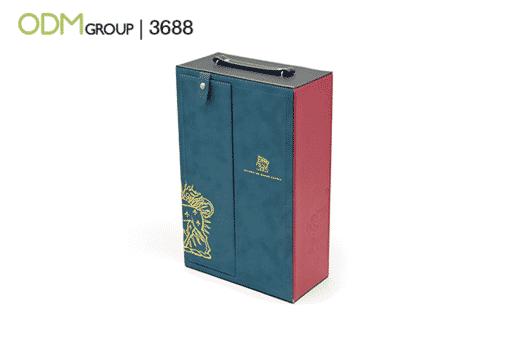 branded wine box