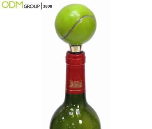 branded wine stopper