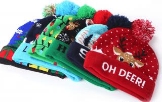 Branded Christmas Hats