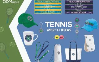 tennis merchandise ideas collage
